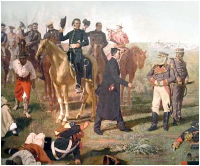 Batalla de Las Piedras, fragmento