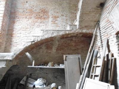 Escalera de ladrillos, San Isidro.