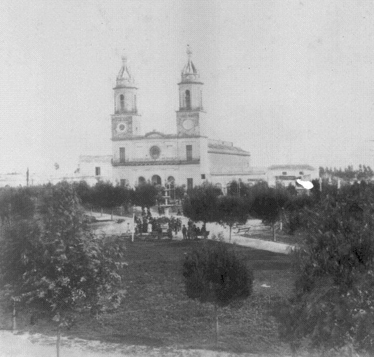 Iglesia San Isidro en 1882
