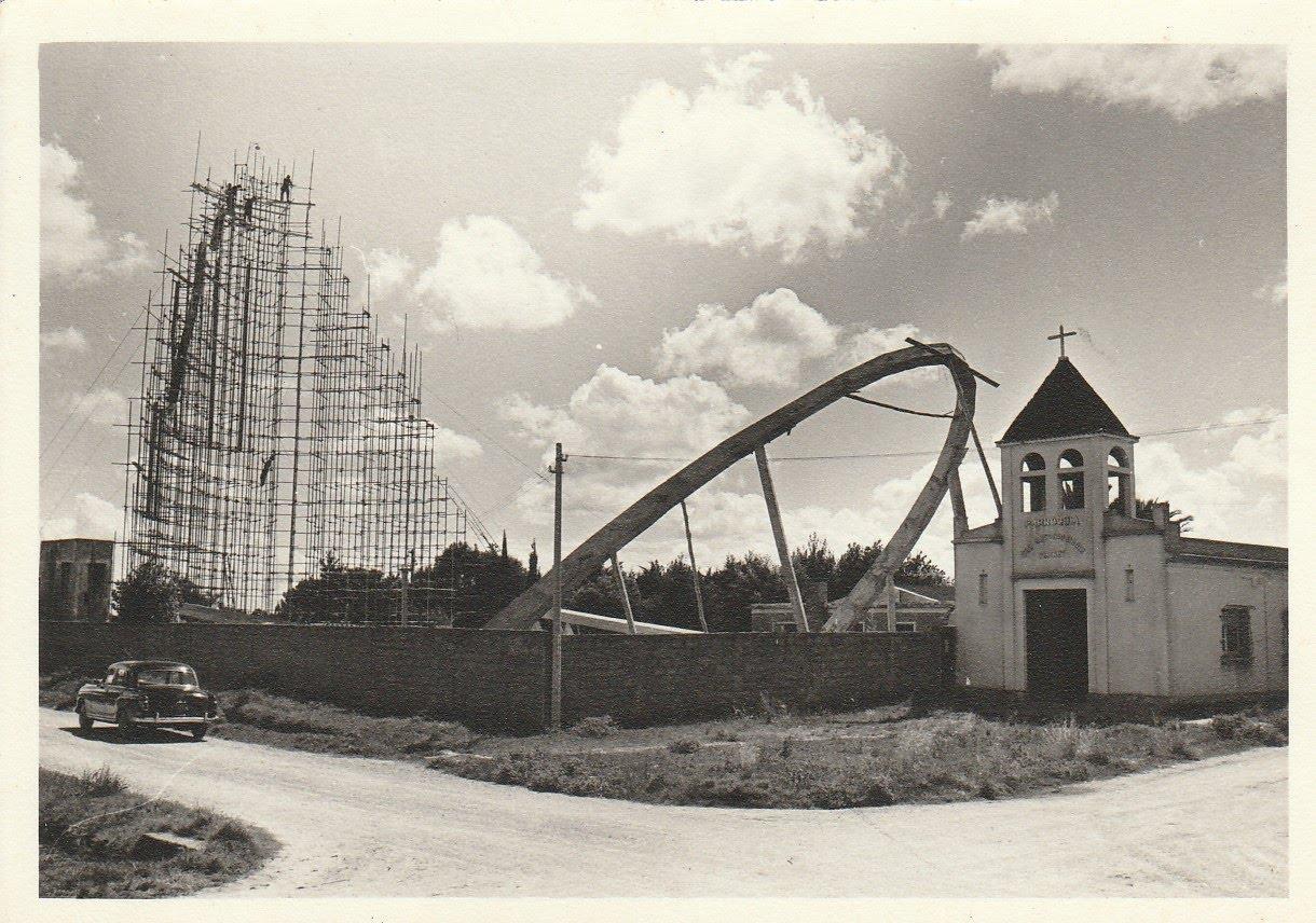 Estructura de la iglesia de Progreso, 1967