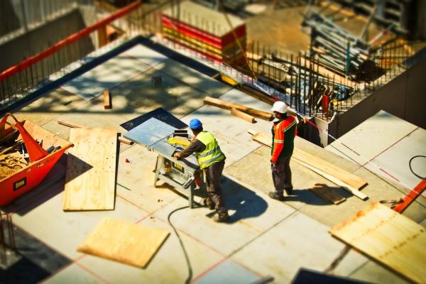 Obreros en construcción. Autor: Pixabay - Pexels